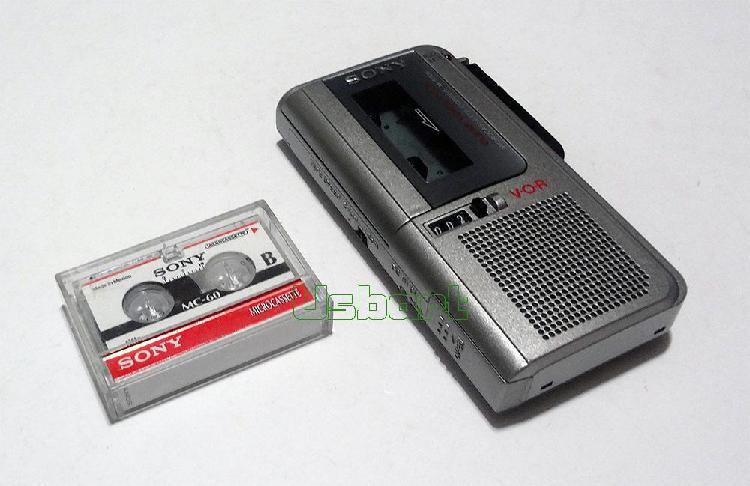 Grabadora De Voz Sony M570v Micro Cassette VOR operativo y
