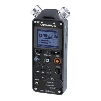 Grabadora Profesional De Audio Digital Olympus Ls