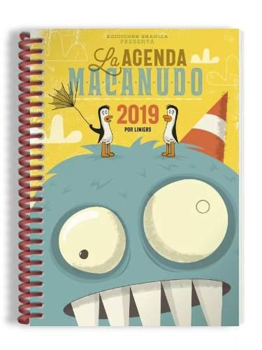 Agenda 2019 Macanudo Anillada Olga
