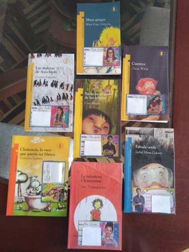 Libros Plan Lector Primaria - Norma-san Pablo-vinces-otros