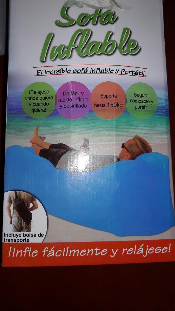 Sofa Sillon Inflable Nuevo