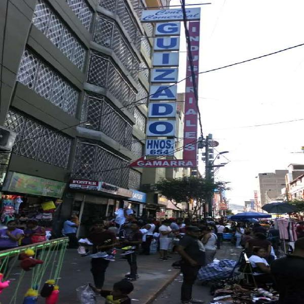 Vendo locales comerciales en Lima