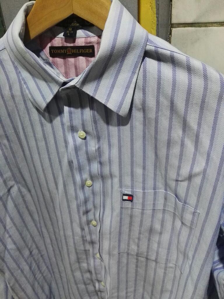 Camisa Tommy Hilfiger Talla L Original