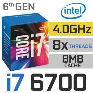 Core I7 6700 3.40 Ghz 8mb Cache, 6ta Gen