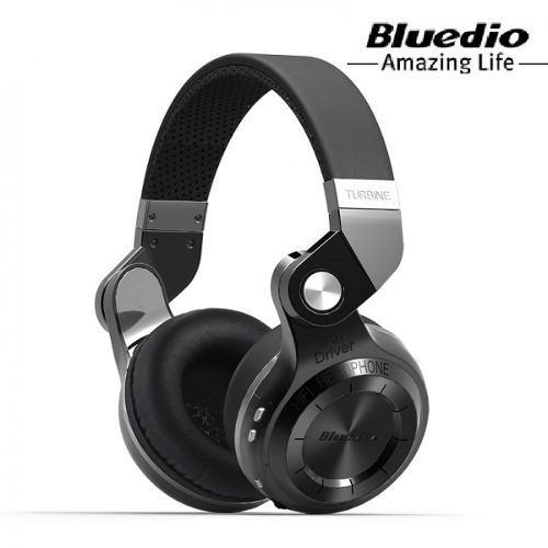 Audífono Bluedio T2+ Plus Bluetooth 4.1 Radio Fm Microsd