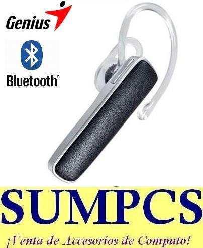 Audifono Handsfree Bluetooth 3.0 Genius Hs-120bt ¡original!