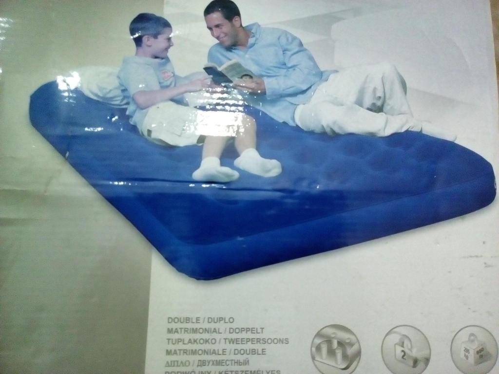 Colchón infable de 2 plazas mas inflador