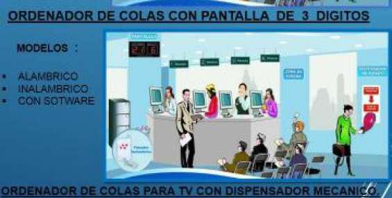 Kit ordenador de colas en Lima