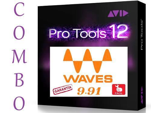 Pro Tools Hd 12.5 + Todos Los Plugins Waves   Pc   Inmediato