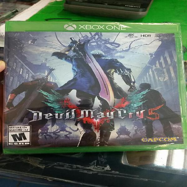 Devil May Cry 5 Xbox One Sellado Stock