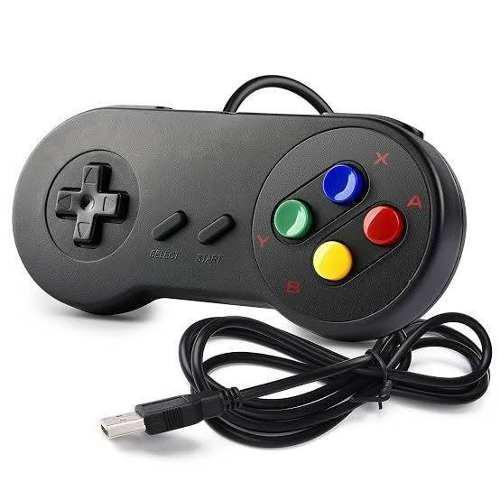 Mando Super Nintendo Para Pc Laptop Y Los Juegos De Regalo