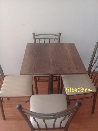 Muebles Tipo Puff, Juegos De Mesa Con 4 Sillas Y Sillas Alta