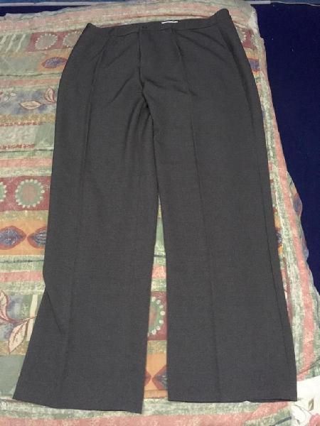 Pantalón de Vestir para Mujer Xl Plomo