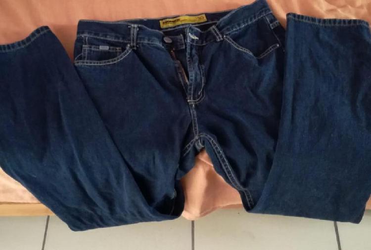 Pantalon Jean Pionier Hombre Talla