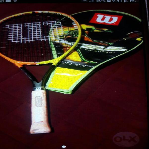 Raq.tenis Wilson Usada con Estch S.borja