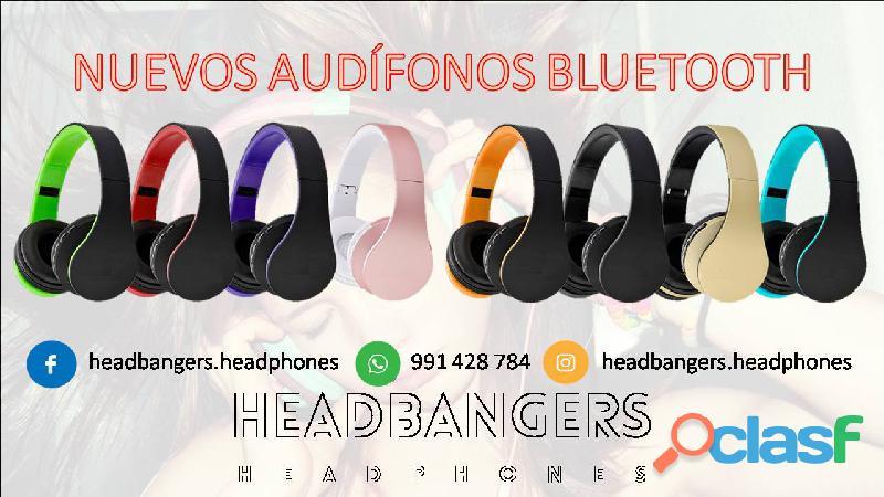 Nuevos Audífonos Inalámbricos Bluetooth 4 En 1