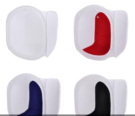 Cubo Caja De Luz Para Fotografia 60cm Estudio Fotografico