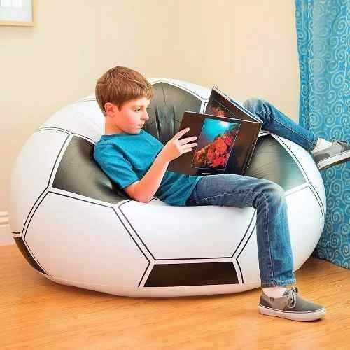 Sillon Tipo Balón Sofa Puff Inflable Oferta Mundial Russia