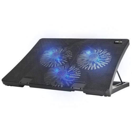 Cooler 3 Ventiladores Para Laptop Notebook 17'' Iceberg 3+