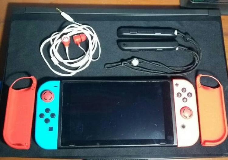 Ocación: Nintendo Switch con Accesorios