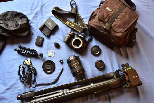 Nikon D3200, Lente 18-200mm Vr Ii, Wi-fi Wu-1b Todo Al 100%