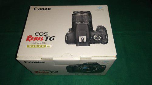 Oferta Kit Canon Rebel T6