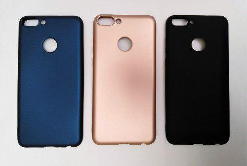 Case Funda De Silicona Para Huawei P Smart + Vidrio Gratis