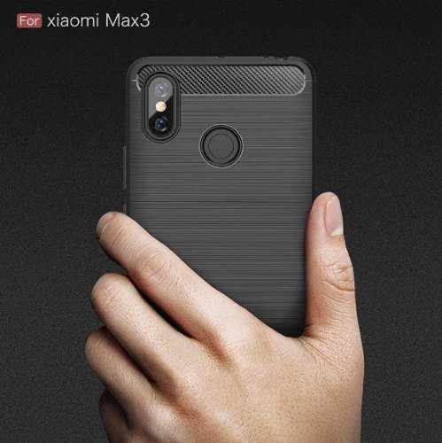 Case Funda Protector Carbono Xiaomi Mi Max 3