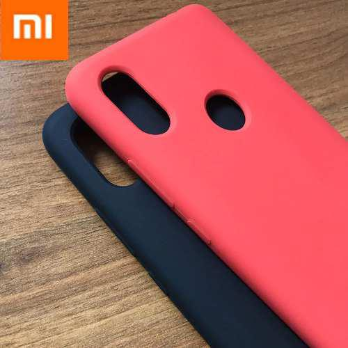 Case Funda Silicona Para Xiaomi Mi 8 / Lite / Pro Cover Logo