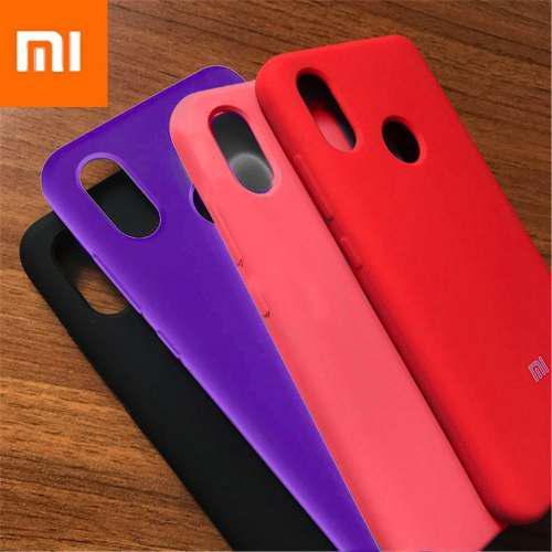 Case Funda Silicona Para Xiaomi Mi A2 / A2 Lite Cover Logo