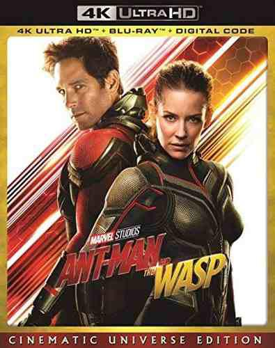 Blu Ray Ant Man And The Wasp 2d - 4k- Stock - Nuevo- Sellado