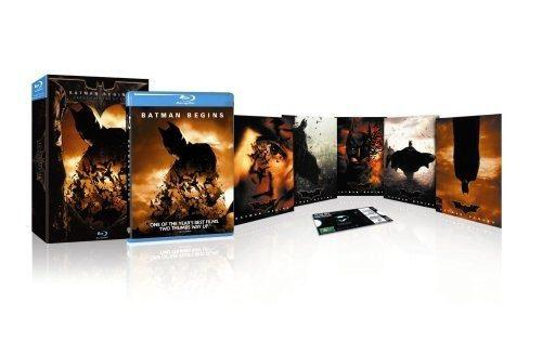 Blu Ray Batman Inicia Edition Gift Set- Stock - Sellado