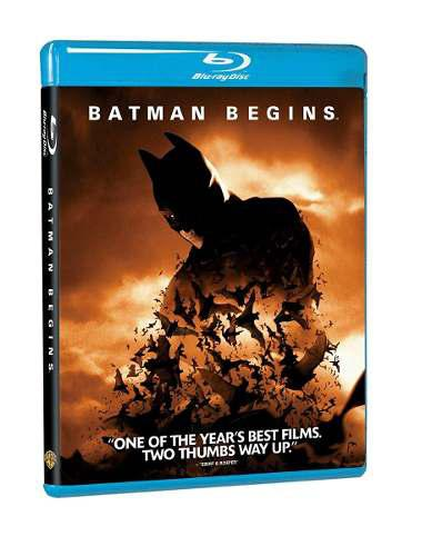 Blu Ray Batman Inicia - Stock - Nuevo - Sellado
