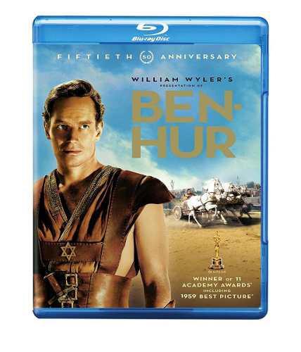 Blu Ray Ben Hur - Stock - Nuevo - Sellado