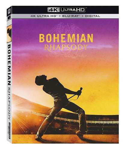 Blu Ray Bohemian Rhapsody 2d - 4k - Stock - Nuevo - Sellado