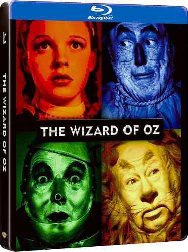 Blu Ray El Mago De Oz (Estuche Metal) - Stock - Nuevo