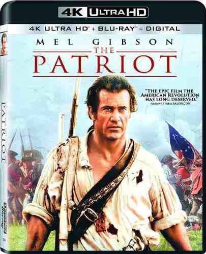 Blu Ray El Patriota 2d - 4k - Stock - Nuevo - Sellado
