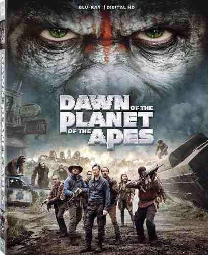 Blu Ray El Planeta De Los Simios: Confrontación - Stock