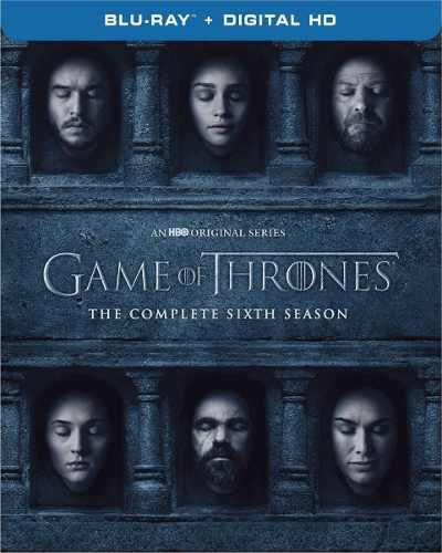 Blu Ray Game Of Thrones: 6ta. Temporada - Stock - Nuevo