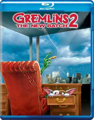 Blu Ray Gremlins 2: The New Batch - Stock - Nuevo - Sellado