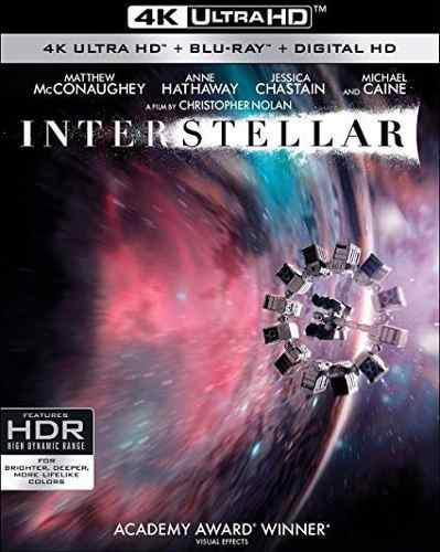 Blu Ray Interstellar 2d - 4k - Stock - Nuevo - Sellado