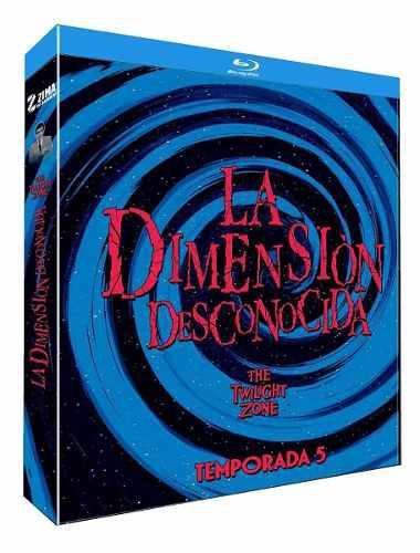 Blu Ray La Dimensión Desconocida: 5ta. Temporada - Stock