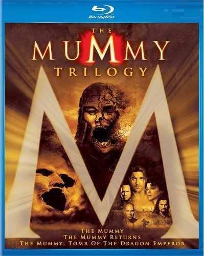 Blu Ray La Momia Trilogía - Stock - Nuevo - Sellado