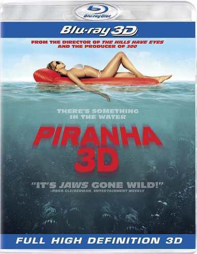 Blu Ray Piraña 3d - Stock - Nuevo - Sellado