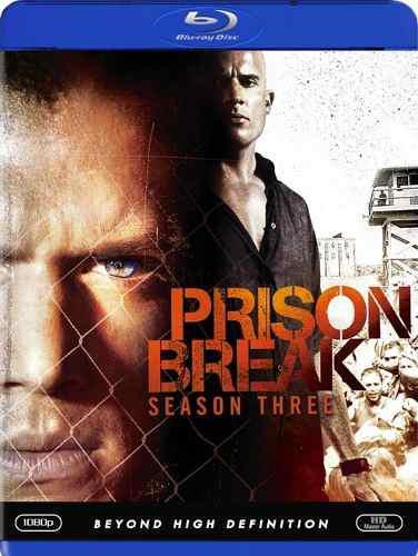 Blu Ray Prison Break: 3ra. Temporada - Stock - Nuevo