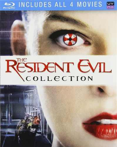 Blu Ray Resident Evil Collection - Stock - Nuevo - Sellado