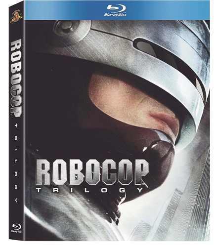 Blu Ray Robocop Trilogía - Stock - Nuevo - Sellado