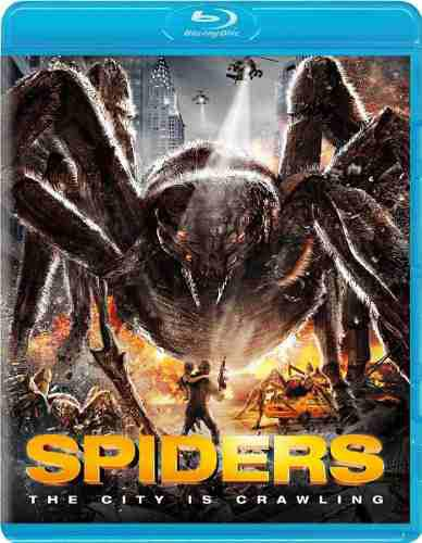 Blu Ray Spiders 3d - 2d - Stock - Nuevo - Sellado