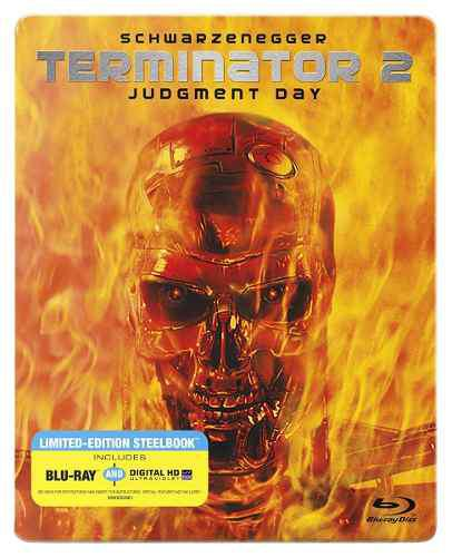 Blu Ray Terminator 2 (Steelbook) - Stock - Nuevo - Sellado