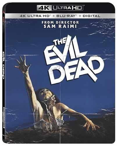 Blu Ray The Evil Dead 2d - 4k - Stock - Nuevo - Sellado